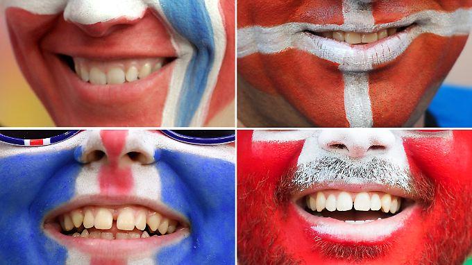Norwegen, Dänemark, Island und die Schweiz rangieren ganz oben.