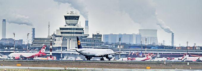 2016 wurden am Flughafen Tegel über 21 Millionen Passagiere abgefertigt.