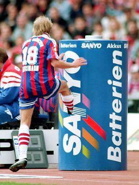 Jürgen Klinsmanns legendärer Tritt.