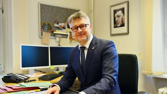 Wegen Franz Josef Strauss sei er damals in die CSU eingetreten. Jetzt ist Andreas Otti als Neu-Berliner bei der AfD.