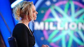 Anke Wiegand scheiterte an der 8000-Euro-Frage.