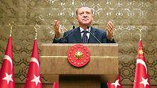 """Dauerfeuer gegen """"Nazi""""-Europa: Der laute Erdogan kann trotzdem verlieren"""