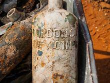 Fundsache, Nr. 1347: Flaschen von Soldaten aus Erstem Weltkrieg