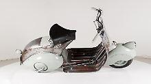 Kult-Motorroller von 1946: Älteste Vespa der Welt wird versteigert