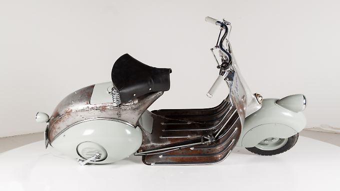 Die Vespa 98 cc aus der Serie 0 stammt aus dem Jahr 1946.