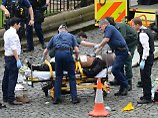 Polizei erschießt Messerstecher: Mehrere Tote bei Doppelanschlag in London