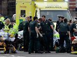 """""""Diese schrecklichen Gewaltakte"""": London-Attacke löst weltweit Bestürzung aus"""