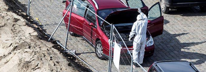 Anschlagsversuch in Antwerpen?: Mann an Fahrt in Menge gehindert