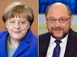 Schulz-Vorsprung bröckelt: Umfrage sieht SPD und Union gleichauf