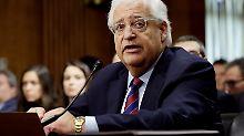 US-Senat nickt David Friedman ab: Siedlerunterstützer wird Israel-Botschafter
