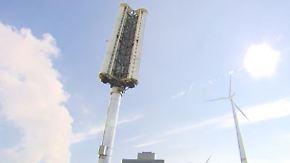 Turbinen sollen Städte erobern: Grevenbroich testet Windrad ohne Flügel