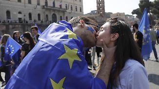 """Plädoyer für mehr Europa: """"Werden mit Kleinstaaterei untergehen"""""""