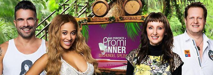 "Promi-Dinner - Dschungel-Spezial: ""Erstmal 'nen anständigen Cola-Whisky"""