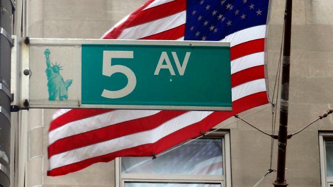"""Das Hochhaus soll an der 5. Avenue unweit des """"Trump Towers"""" entstehen."""