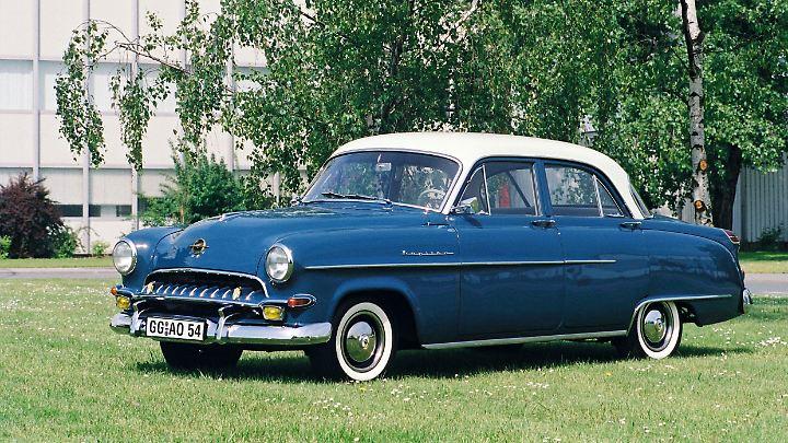 Mehr als drei Jahreseinkommen kostete der Opel Kapitän seinerzeit.