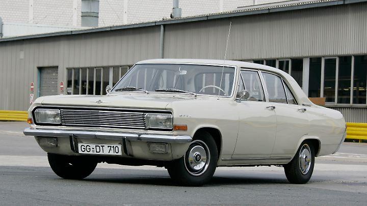 Der Opel Kapitän A wurde von 1964 bis 1965 gebaut.