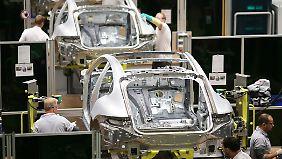 Banger Blick nach Amerika: Deutsche Wirtschaft trotzt der Krise