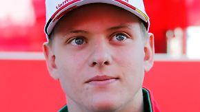 """Rennfahrer im n-tv Interview: Mick Schumacher will in Formel 3 """"viel lernen"""""""