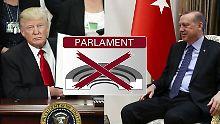 Vergleich mit den USA: So soll Erdogans Präsidialsystem funktionieren