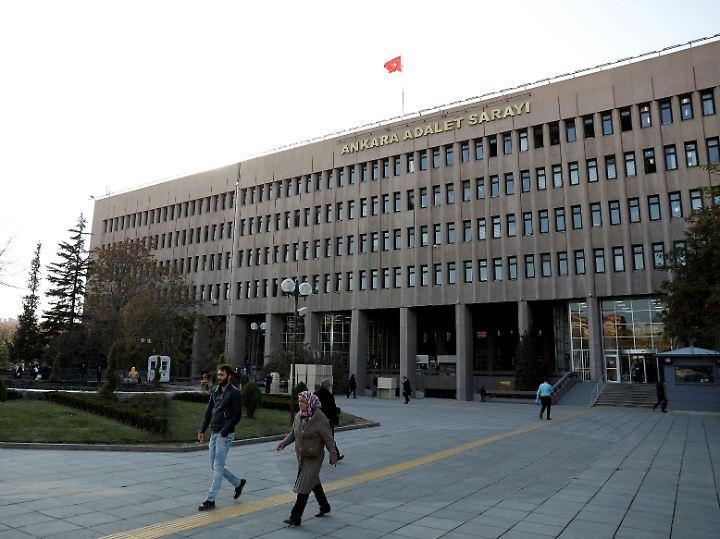 Der Justizpalast in Ankara.