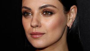 Promi-News des Tages: Mila Kunis zieht einen Schlussstrich
