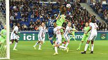 Trotz großem Getümmels im Lyoner Strafraum gelang den Wolfsburgerinnen nur ein Treffer - zu wenig.