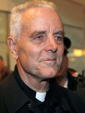 Der Holocaust-Leugner Williamson: Offenbar war Benedikt XVI. nicht über seine Äußerungen informiert.