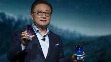 Neues Top-Modell nach Akku-Fiasko: Samsung präsentiert Galaxy S8