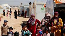 Sechs Jahre Krieg: Mehr als fünf Millionen flohen aus Syrien