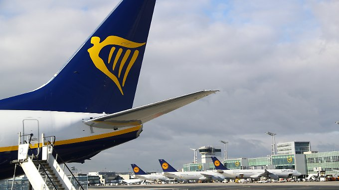 Ryanair-Maschinen auf dem Frankfurter Flughafen. Bald Seltenheitswert?