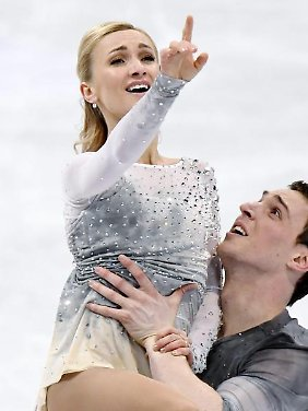 Bruno Massot will mit Aljona Savchenko bei Olympia starten.