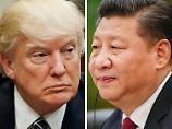 Streit über Handelsbeziehung: Trump knöpft sich Chinas Staatschef vor