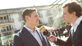 """Startup News: Philipp Hartmann: Unternehmertag """"hat Klassenfahrtcharakter"""""""