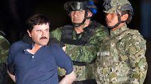 """Unnötig harte Haftbedingungen: Menschenrechtler sorgen sich um """"El Chapo"""""""