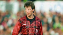 Die erste Saison in der Bundesliga: Wolfgang Stark im Februar 1998.
