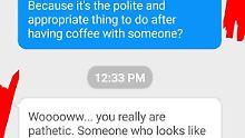 Nachrichten nach Date: Konversation eskaliert in Sekunden