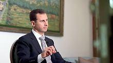 Die EU will Baschar al-Assad loswerden, US-Präsident Trump nicht unbedingt.