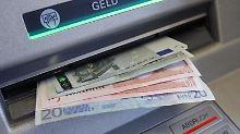 Gebühren fürs Geldabheben