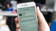 Update ist klein, aber wichtig: iOS 10.3.1 flickt gefährliches Leck