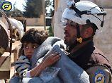 Angeblich Waffenfabrik als Ziel: Kreml relativiert Giftgas-Angriff in Syrien