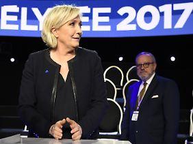Marine Le Pen war an diesem Abend nur eine Extreme unter vielen.