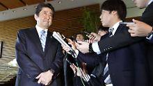 Japans Ministerpräsident Abe warnt eindringlich vor Nordkorea.