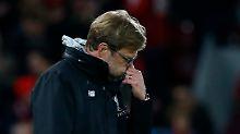 Der Verzweiflung nahe: Liverpool-Coach Jürgen Klopp.