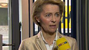 """Ursula von der Leyen im n-tv Interview: """"Bundeswehr hat einen sehr klaren Auftrag in Syrien"""""""