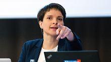 Flügelkampf gewinnt an Schärfe: Petry bringt die AfD in Wallung
