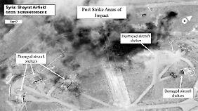 Keine Beteiligung der Bundeswehr: USA schließen weiteres militärisches Vorgehen in Syrien nicht aus