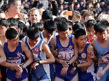 """""""Schon ein bisschen surreal"""": Ausländer laufen Marathon in Pjöngjang"""