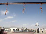 Hinrichtungsplatz in Kabul im Jahr 2014: Die Zahl der Todesurteile ist 2016 drastisch gestiegen.