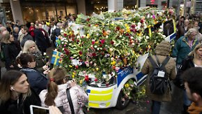 Nach Lkw-Anschlag in Stockholm: Staatsanwaltschaft beantragt Haftbefehl gegen Usbeken