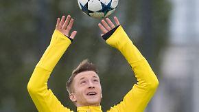 Fit fürs CL-Duell gegen Monaco: Marco Reus ist Dortmunds Ass im Ärmel
